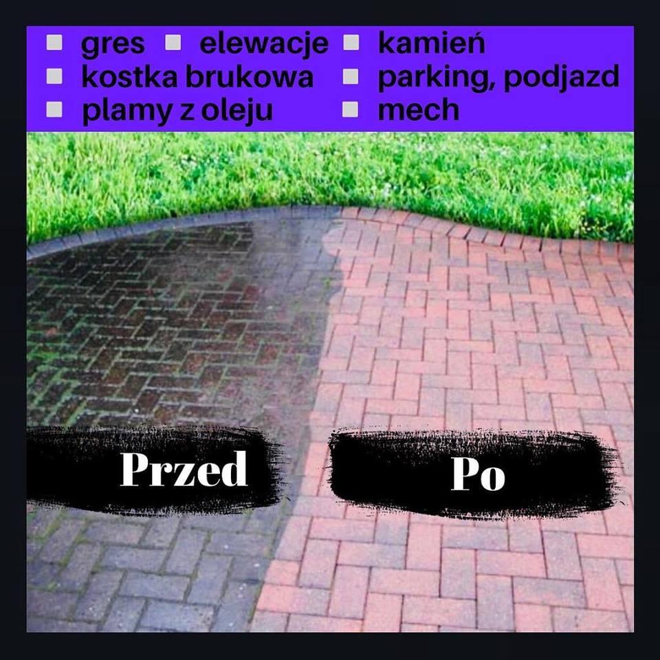 Mycie kostki brukowej Lublin