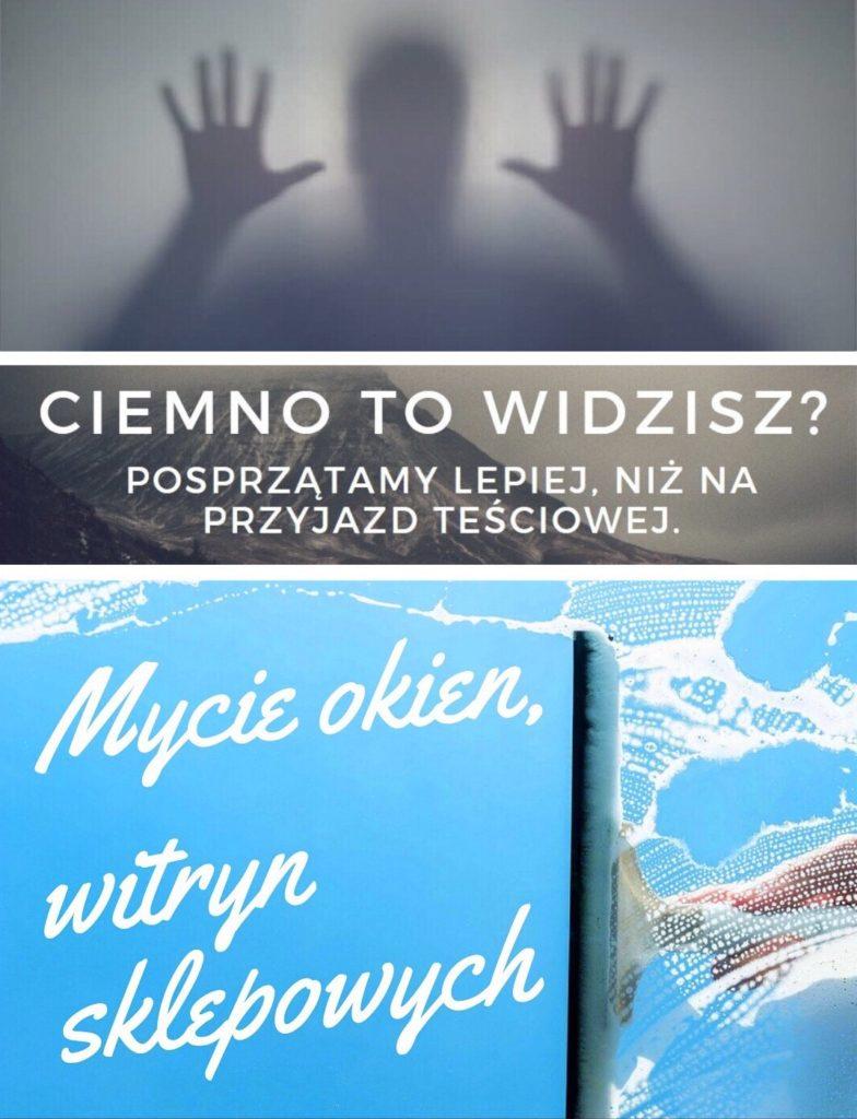 Mycie witryn sklepowych Lublin